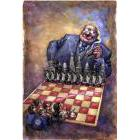 Capitalist at a chess board