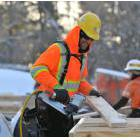 Construction worker in Barrie