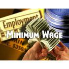 MOney in the background with the heading of Minimum Wage