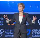 Ontario Premier Kathleen Wynne speaks during the Ontario Economic Summit on Friday, Nov. 10, 2017 in Niagara-on-the-Lake