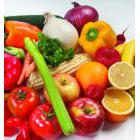 Nutritious food - fruits and vegetables