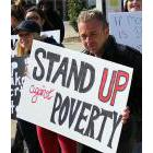 The Poverty Reduction Network of Sarnia-Lambton is planning its annual Stand Up Against Poverty Rally on the steps of city hall earlier this year, because of the municipal election