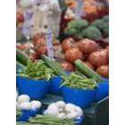 Healthy fresh fruit and vegetables
