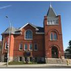 Site of the shelter and meal facility at Knox United Church in downtown Kenora
