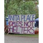 Anita's Place tent city camp, Maple Ridge