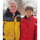 Ivan and Bev Kennedy live across the street from the location of an emergency homeless shelter and are concerned about its proximity to a school